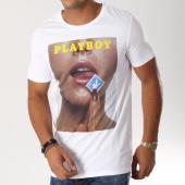 /achat-t-shirts/playboy-tee-shirt-stamp-blanc-159518.html