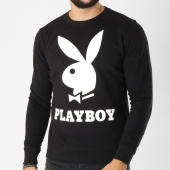 /achat-sweats-col-rond-crewneck/playboy-sweat-crewneck-logo-noir-159576.html