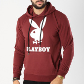 /achat-sweats-capuche/playboy-sweat-capuche-logo-bordeaux-159662.html