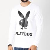 /achat-sweats-col-rond-crewneck/playboy-sweat-crewneck-logo-blanc-159691.html