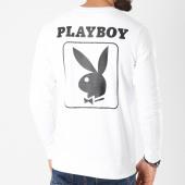/achat-sweats-col-rond-crewneck/playboy-sweat-crewneck-back-bunny-blanc-159693.html