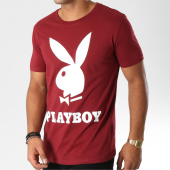 /achat-t-shirts/playboy-tee-shirt-logo-bordeaux-159694.html