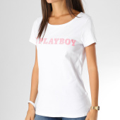 /achat-t-shirts/playboy-tee-shirt-femme-logo-alternate-blanc-rose-159702.html