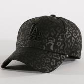 /achat-casquettes-de-baseball/new-era-casquette-femme-leopard-los-angeles-dodgers-11794538-noir-159745.html