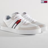 /achat-baskets-basses/tommy-hilfiger-jeans-baskets-em0em00192-100-white-159734.html