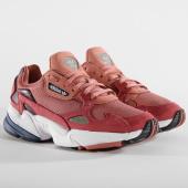 /achat-baskets-basses/adidas-baskets-femme-falcon-d96700-rew-pink-dark-blue-159904.html