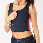 /achat-debardeurs/urban-classics-debardeur-crop-femme-avec-bandes-tb1895-bleu-marine-blanc-rouge-159845.html