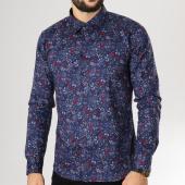/achat-chemises-manches-longues/classic-series-chemise-manches-longues-ch-015-bleu-marine-blanc-floral-160051.html