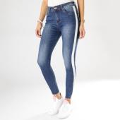 /achat-jeans/girls-only-jean-slim-femme-avec-bandes-7139-bleu-denim-blanc-160019.html