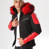 /achat-blousons/mtx-blouson-fourrure-806-noir-rouge-160038.html