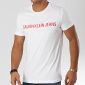 /achat-t-shirts/calvin-klein-tee-shirt-institutional-slim-7856-blanc-160204.html