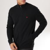 /achat-vestes/calvin-klein-veste-zippee-ckj-chest-logo-389-noir-160239.html