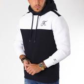 /achat-sweats-capuche/final-club-sweat-capuche-bicolore-avec-broderie-120-bleu-blanc-160412.html