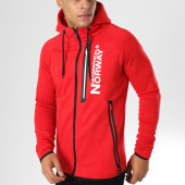 /achat-sweats-zippes-capuche/geographical-norway-sweat-zippe-capuche-gunmetal-rouge-chine-160130.html