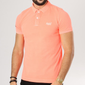 /achat-polos-manches-courtes/superdry-polo-manches-courtes-vintage-destroy-orange-fluo-160179.html