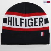 /achat-bonnets/tommy-hilfiger-jeans-bonnet-hilfiger-4306-bleu-marine-blanc-rouge-160309.html