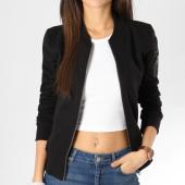 /achat-vestes/urban-classics-veste-zippee-femme-poche-bomber-tb1317-noir-160330.html