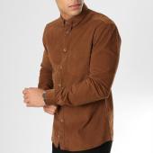 /achat-chemises-manches-longues/celio-chemise-manches-longues-mavelours-marron-160540.html