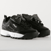 /achat-baskets-basses/fila-baskets-femme-disruptor-glam-low-1010537-25y-black-160561.html
