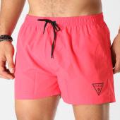 /achat-maillots-de-bain/guess-short-de-bain-f91t00tel60-rouge-noir-160567.html