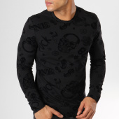 /achat-sweats-col-rond-crewneck/vip-clothing-sweat-crewneck-7011-noir-160428.html
