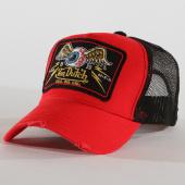 /achat-trucker/von-dutch-casquette-trucker-05-rouge-noir-160497.html