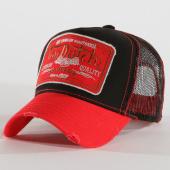 /achat-trucker/von-dutch-casquette-trucker-09-noir-rouge-160500.html