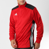 /achat-sweats-col-zippe/adidas-sweat-col-zippe-regi18-tr-top-cz8651-rouge-160734.html