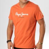 /achat-t-shirts/pepe-jeans-tee-shirt-eggo-v-orange-160590.html
