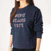 /achat-sweats-col-rond-crewneck/pepe-jeans-sweat-crewneck-femme-vickies-bleu-marine-160619.html