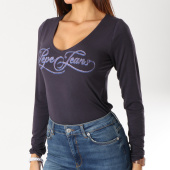 /achat-t-shirts-manches-longues/pepe-jeans-tee-shirt-manches-longues-femme-marlene-bleu-marine-160688.html