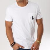 /achat-t-shirts-poche/calvin-klein-tee-shirt-poche-monogram-pocket-slim-1023-blanc-160812.html