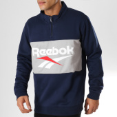 /achat-sweats-col-zippe/reebok-sweat-col-zippe-classic-vector-dw1120-bleu-marine-gris-160859.html