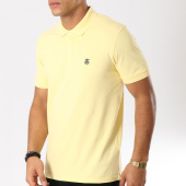 /achat-polos-manches-courtes/selected-polo-manches-courtes-haro-embroidery-jaune-pastel-160801.html