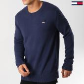 /achat-pulls/tommy-hilfiger-jeans-pull-tommy-classics-5068-bleu-marine-160846.html
