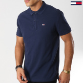 /achat-polos-manches-courtes/tommy-hilfiger-jeans-polo-manches-courtes-tommy-classics-5508-bleu-marine-160854.html