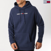 /achat-sweats-capuche/tommy-hilfiger-jeans-sweat-capuche-small-logo-5146-bleu-marine-160862.html