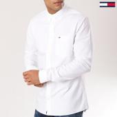 /achat-chemises-manches-longues/tommy-hilfiger-jeans-chemise-manches-longues-classics-4484-blanc-160868.html