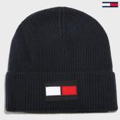 /achat-bonnets/tommy-hilfiger-jeans-bonnet-flag-4302-bleu-marine-160884.html