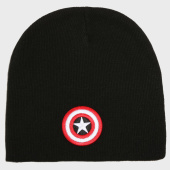 /achat-bonnets/marvel-bonnet-captain-america-logo-noir-161032.html