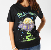 /achat-t-shirts/rick-and-morty-tee-shirt-femme-soucoupe-noir-160932.html