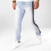 /achat-jeans/sixth-june-jean-skinny-avec-bandes-m3625hde-bleu-wash-161052.html