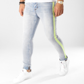 /achat-jeans/sixth-june-jean-skinny-bandes-brodees-m3621hde-bleu-wash-vert-clair-161057.html