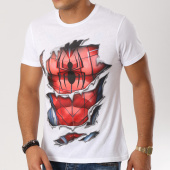/achat-t-shirts/spiderman-tee-shirt-costume-ripped-blanc-160993.html