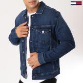 /achat-vestes-jean/tommy-hilfiger-jeans-veste-jean-trucker-5791-bleu-brut-160938.html