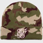 /achat-bonnets/siksilk-bonnet-13623-camouflage-vert-kaki-161134.html