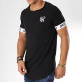 /achat-t-shirts-longs-oversize/siksilk-tee-shirt-oversize-tech-14081-noir-blanc-161126.html