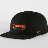/achat-casquettes-de-baseball/thrasher-casquette-47-brand-san-francisco-giants-noir-orange-161179.html