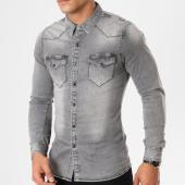 /achat-chemises-manches-longues/frilivin-chemise-manches-longues-605-gris-161376.html