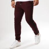 /achat-pantalons-carreaux/frilivin-pantalon-a-carreaux-avec-bandes-1332-bordeaux-noir-161378.html